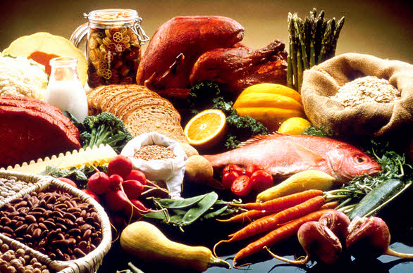 Nutritious and Fiber Rich Diet
