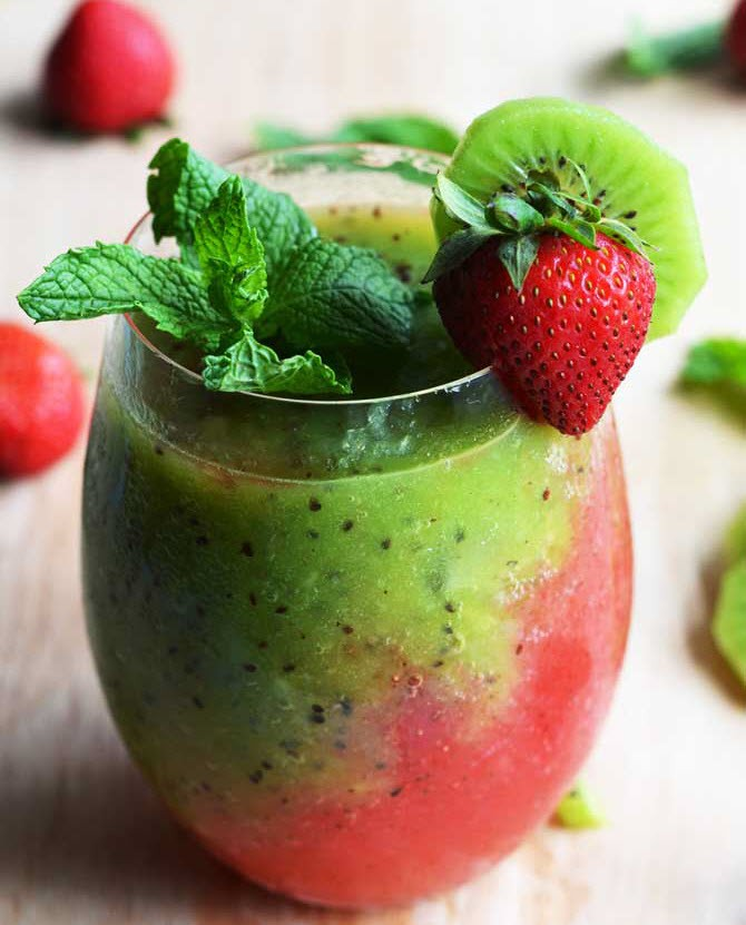 Strawberry Kiwi Mojito