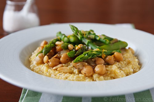 Polenta with Chickpea