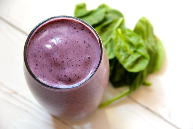 Spinach-Blueberry Smoothie