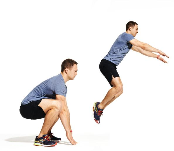 frog jump cardio workout