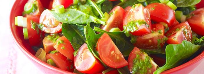 spinach-tomato-salad