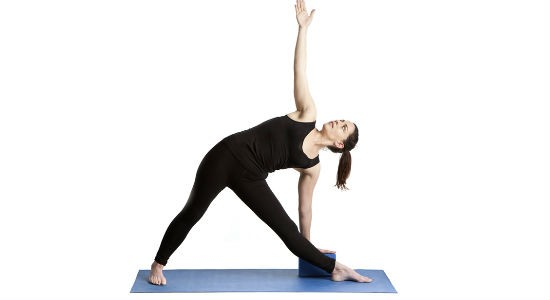The Triangular Pose (Trikonasana