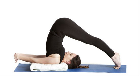 The Plow Pose (Halasana)