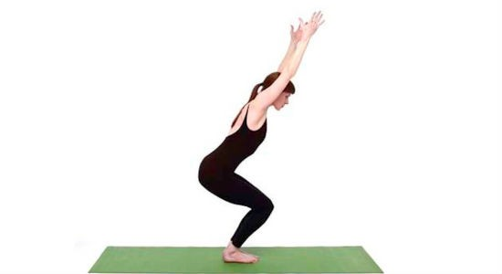 The Chair Pose (Utkatasana