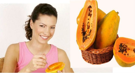Unripe Papaya for periods