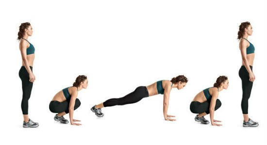Alternating Waves with Burpee