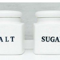 Limit the intake of salt and sugar