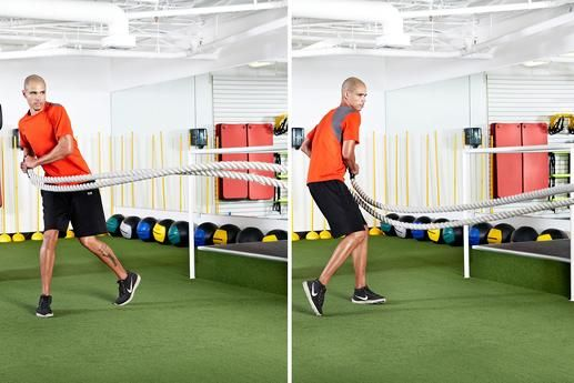 Standing Hip-Toss Rotation