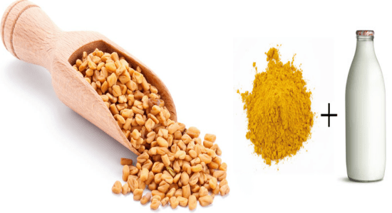 Fenugreek seeds are an excellent source of protein