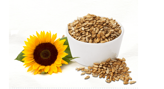 Sunflower seeds for belly fat diet