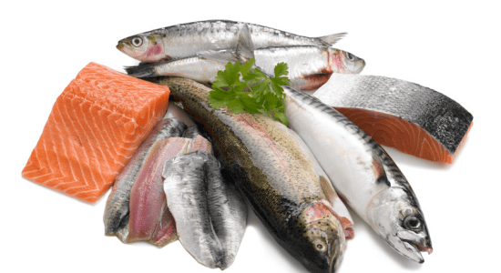 Fatty fish for flat belly