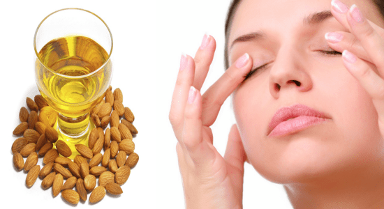 Almond oil is one of the best plant-based natural oils