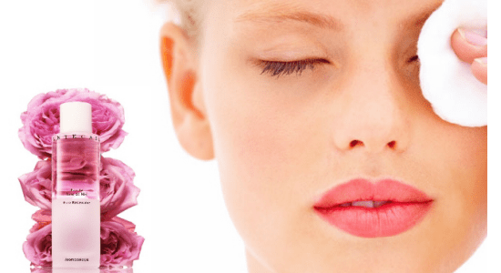 Rose water is often used as a skin toner