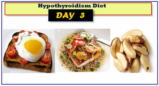 Hypothyroidism Diet Day 3