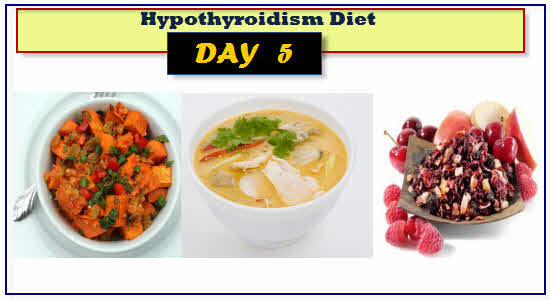 Hypothyroidism Diet Day 5