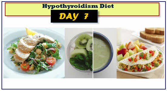 Hypothyroidism Diet Day 7