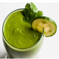Happy Green Monster Smoothie