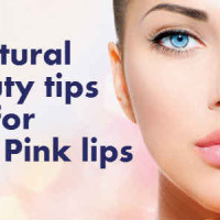 Natural Beauty tips for pink lips