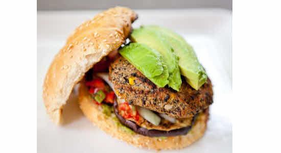 black-bean-veggie-burgers