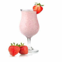 strawberry-and-coconut-oil-shake